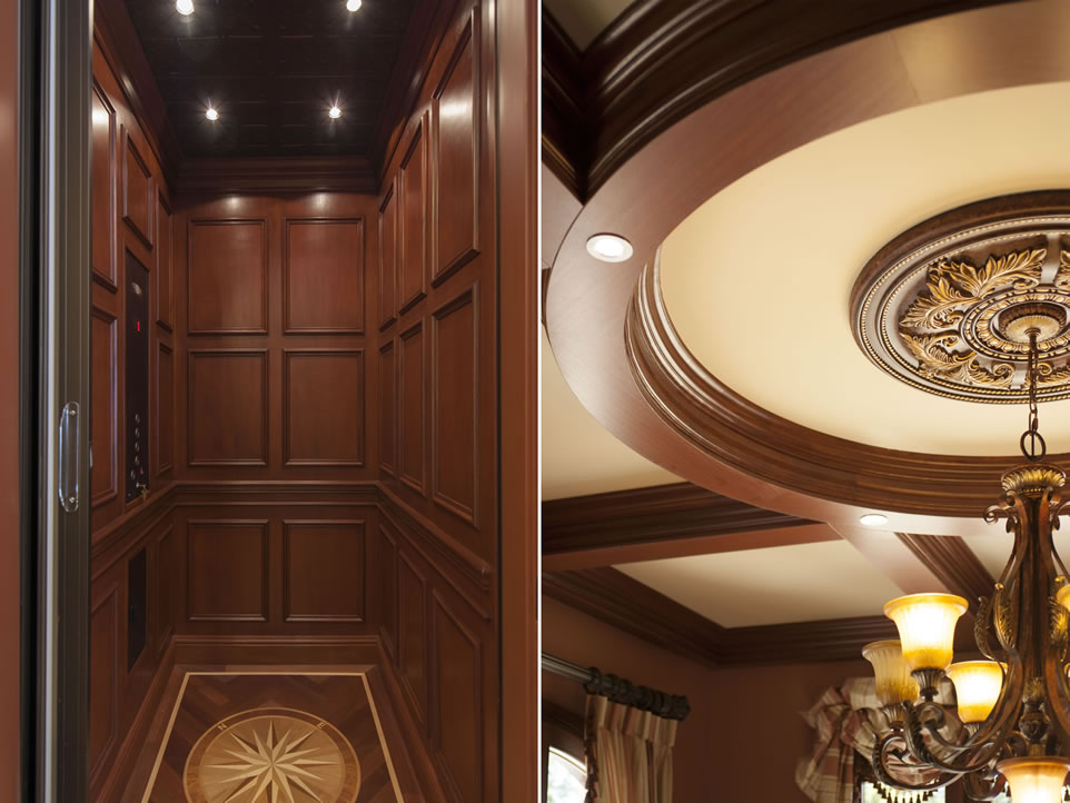 Elevator and Ceiling